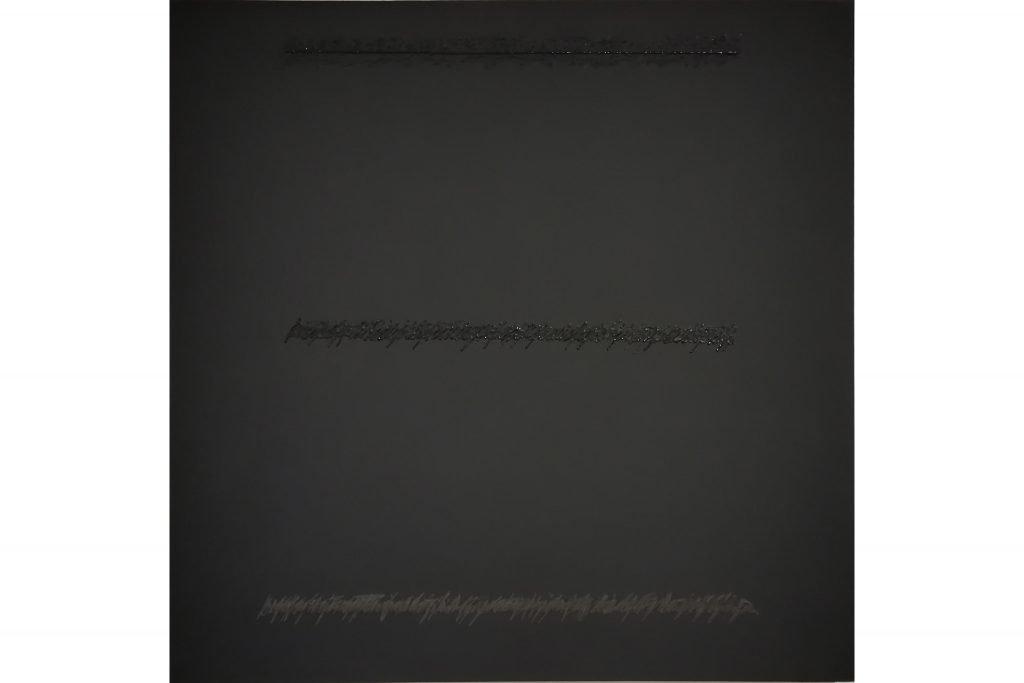 "ALESSANDRO ALGARDI ""Untitled"" - 2017 - acrilyc on canvas paper 60x60 cm"