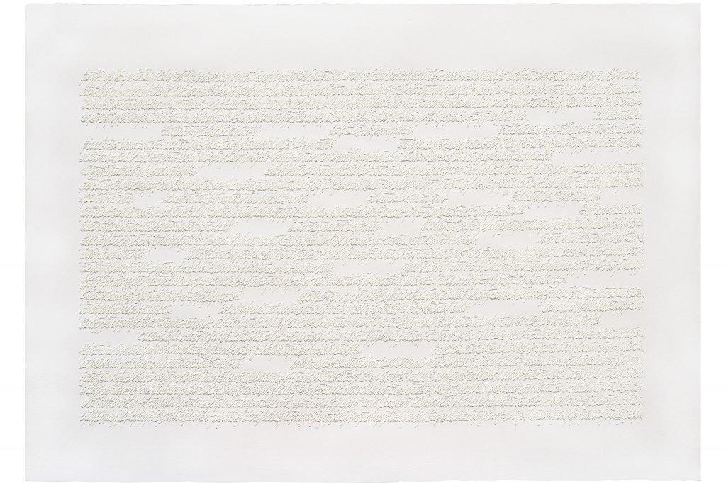 """ALESSANDRO ALGARDI -""""senza titolo""""-2000- pittura acrilica su carta- 70x100 cm"""