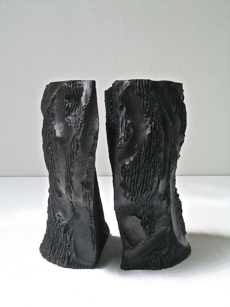 """ANTONIO VIOLETTA """"Il silenzio"""" - 2012 - bronzo h cm 29,5"""