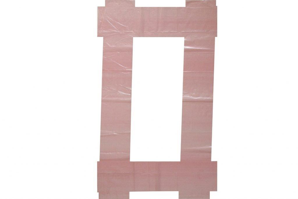 """ANTONIO SCACCABAROZZI """"Senza titolo"""" - 1999 - polietilene 83X50.5 cm"""
