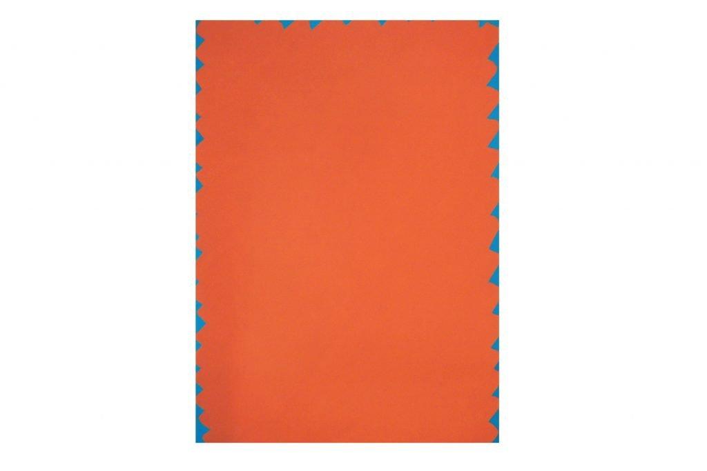 """ANTONIO SCACCABAROZZI """"Quantità"""" - 1986 - pittura vinilica su carta 100X70 cm"""