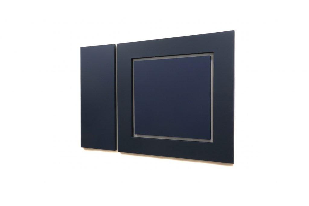 "ENZO CACCIOLA ""18-1-1974"" -1974- vinil paint on canvas 105x148 cm"