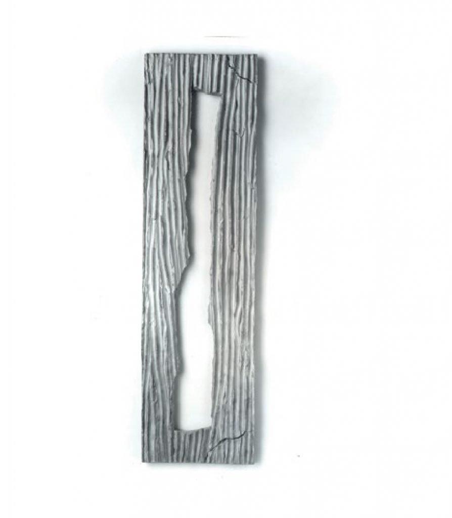 """ANTONIO VIOLETTA """"Arie"""" - 1992 - alluminio 145x40 cm"""