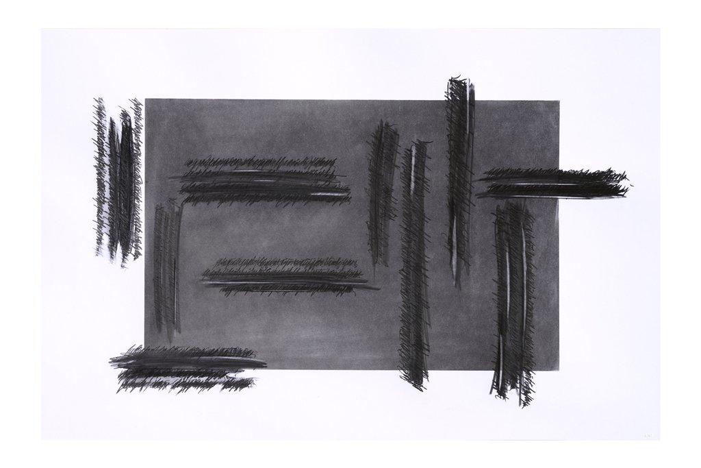 """ALESSANDRO ALGARDI """"Senza titolo""""-2019-grafite su carta-70x100cm"""