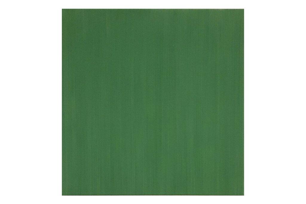 """ANTONIO SCACCABAROZZI-""""4 velature di terra verde""""-2008- Acrilico su tela-50x50cm"""