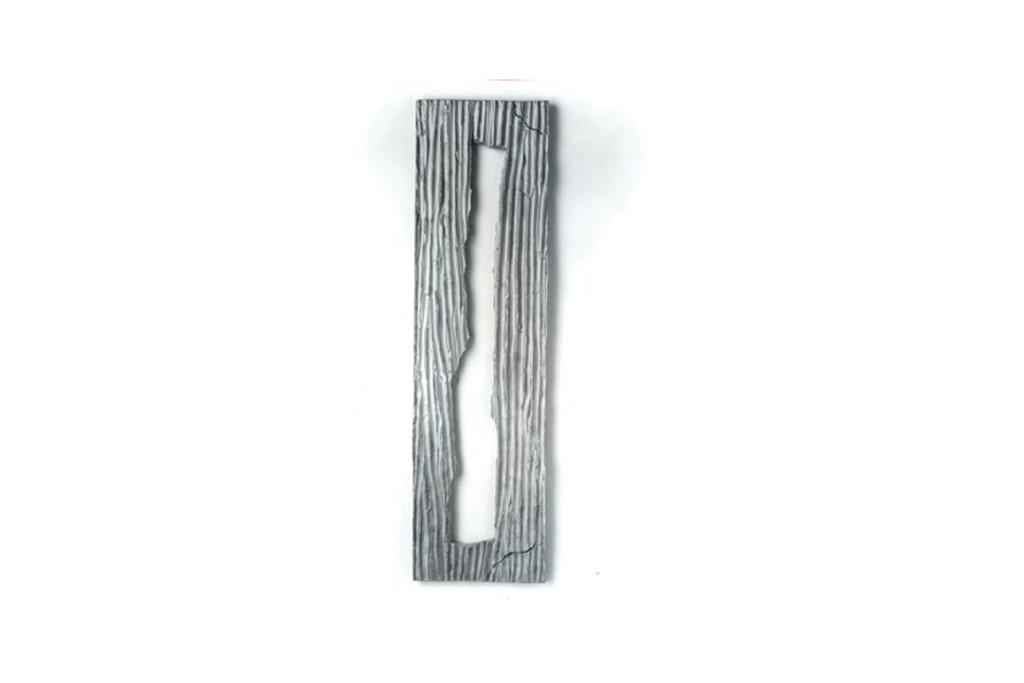 """ANTONIO VIOLETTA -""""Arie"""" - 1992 - alluminio-145x40 cm"""