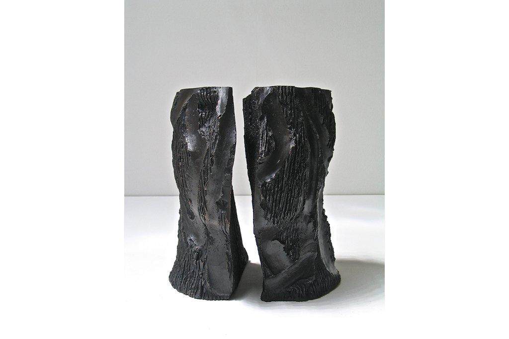 """ANTONIO VIOLETTA -""""Il silenzio"""" - 2012 - bronzo- h cm 29,5"""
